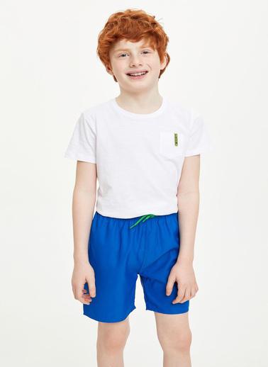 DeFacto Erkek Çocuk Regular Fit Deniz Şortu Mavi